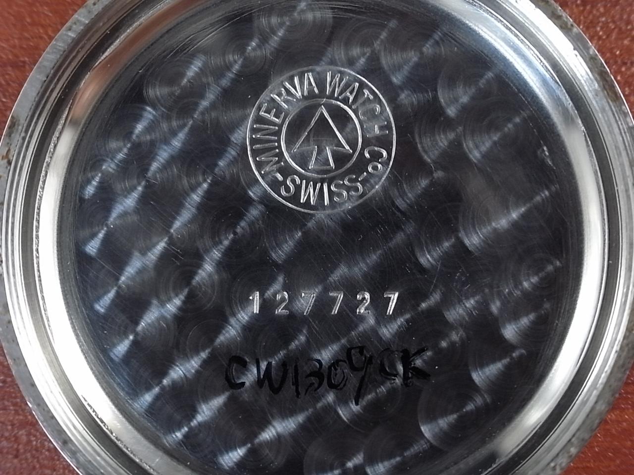ミネルバ クロノグラフ Cal.20CH デシマルスケール 1950年代の写真6枚目