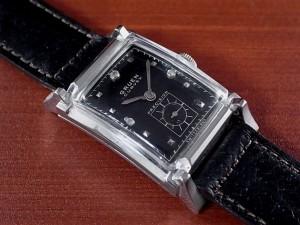 グリュエン カーベックス 14KWG ダイヤモンド Cal.440 1940年代
