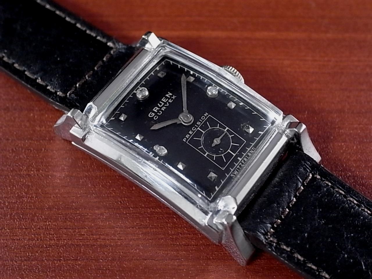 グリュエン カーベックス 14KWG ダイヤモンド Cal.440 1940年代のメイン写真
