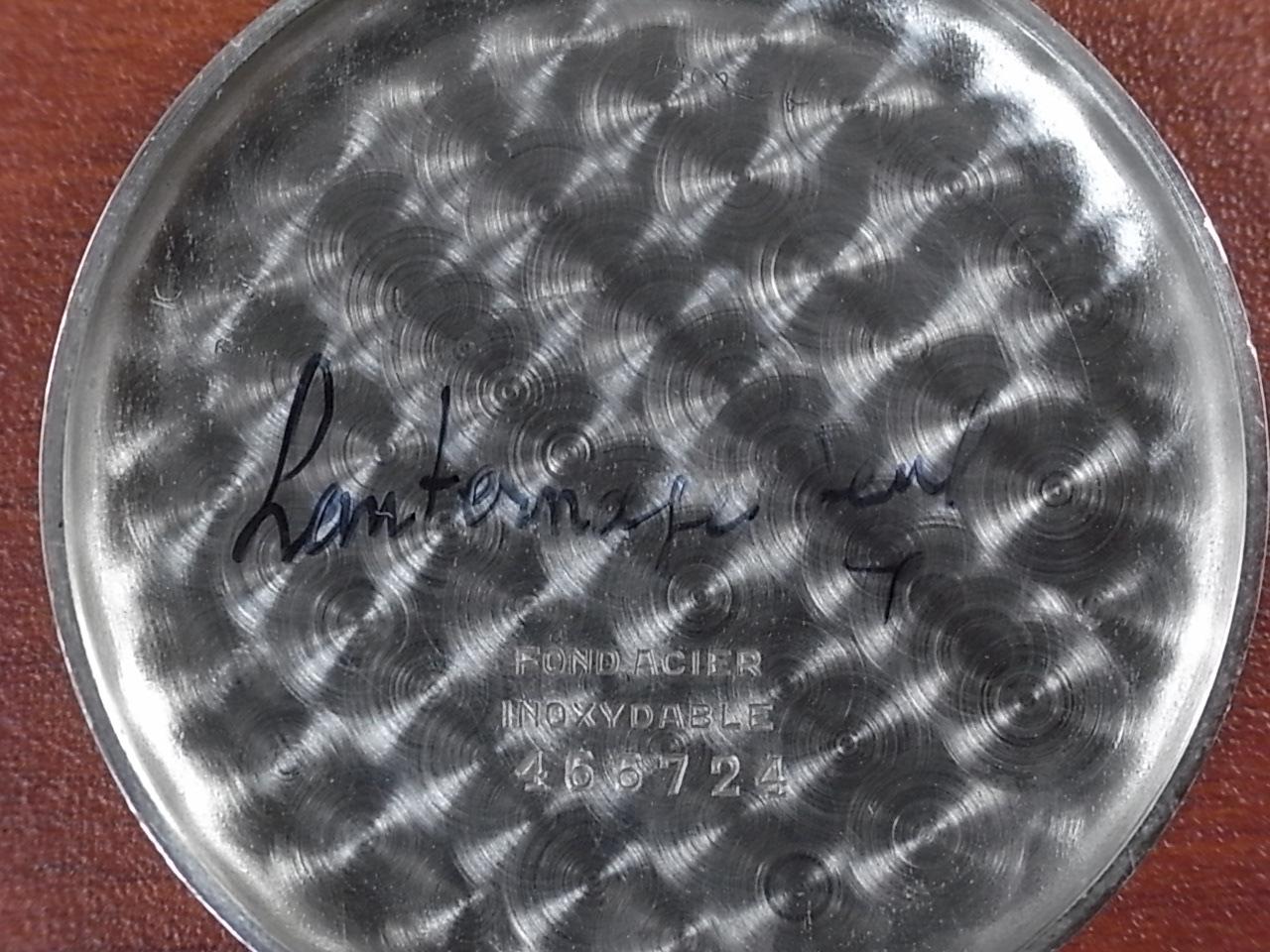 テフォー クロノグラフ フレキシブルラグ Cal.ヴィーナス170 1930年代の写真6枚目