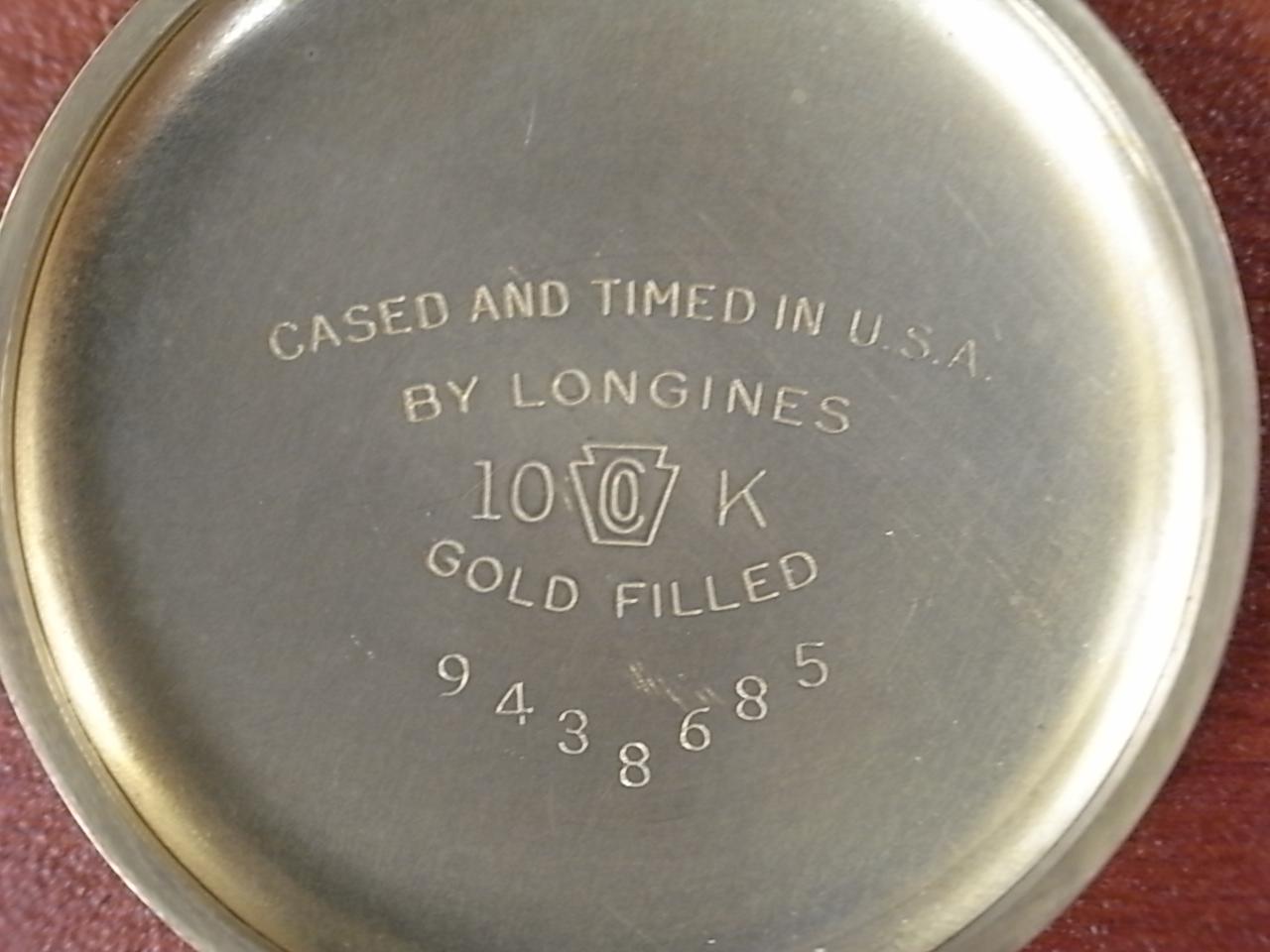 ロンジン ウィームス ボーイズサイズ ブレゲ数字 Cal.10L(10.68N) 1940年代の写真6枚目