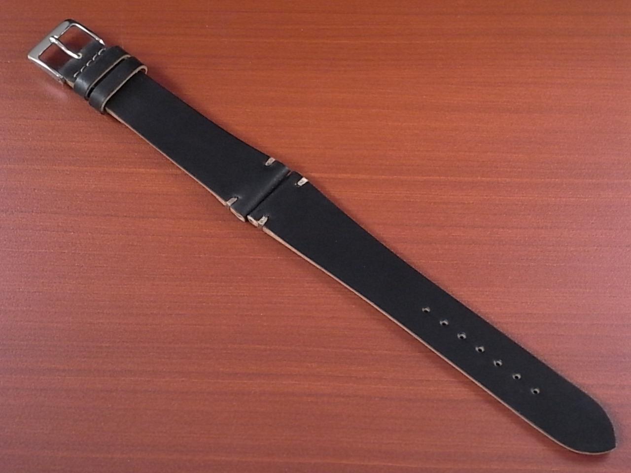 ホーウィン コードバン レギュラーA ブラック 20mmのメイン写真