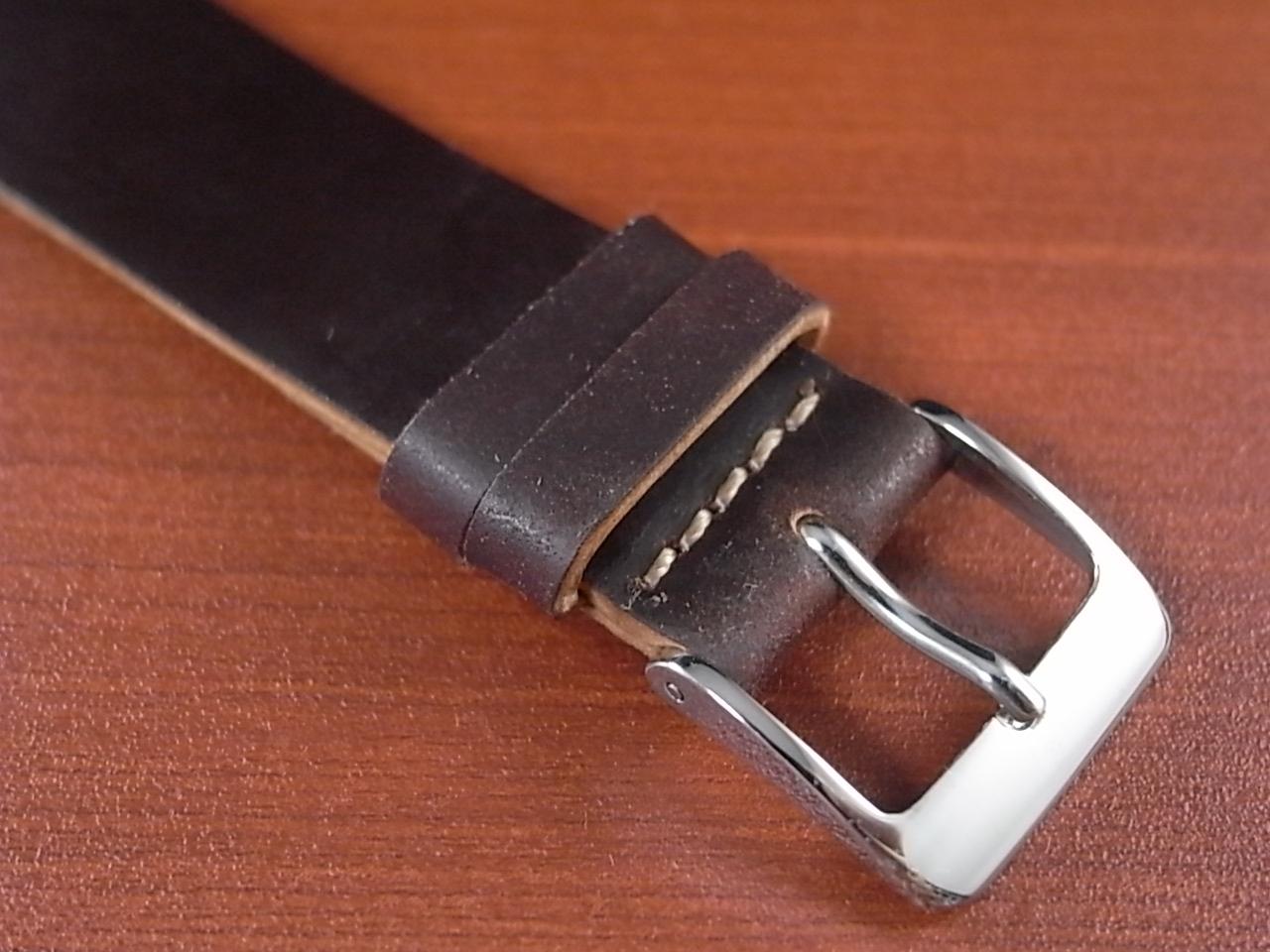ホーウィン コードバン レギュラーA バーガンディ 20mmの写真3枚目