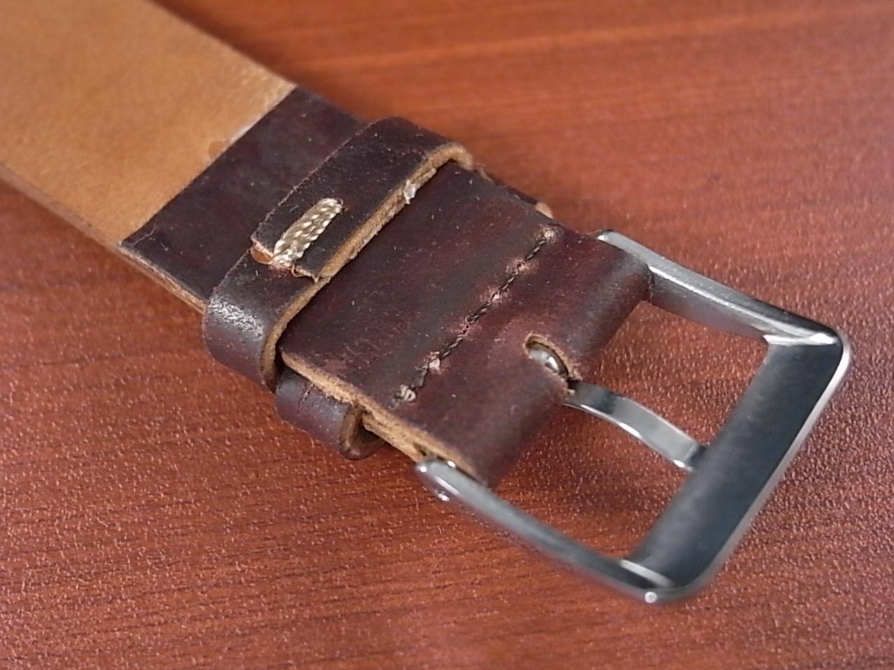 ホーウィン コードバン レギュラーA バーガンディ 20mmの写真4枚目
