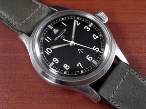 ハミルトン 軍用時計 ロイヤルエアフォース ラウンド 6B 1960年代