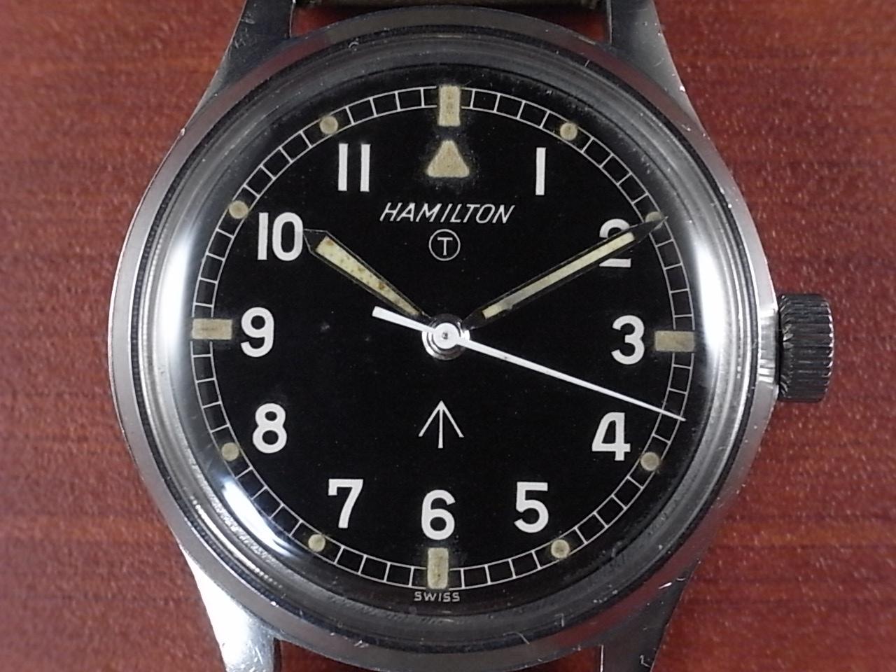 ハミルトン 軍用時計 ロイヤルエアフォース ラウンド 6B 1960年代の写真2枚目