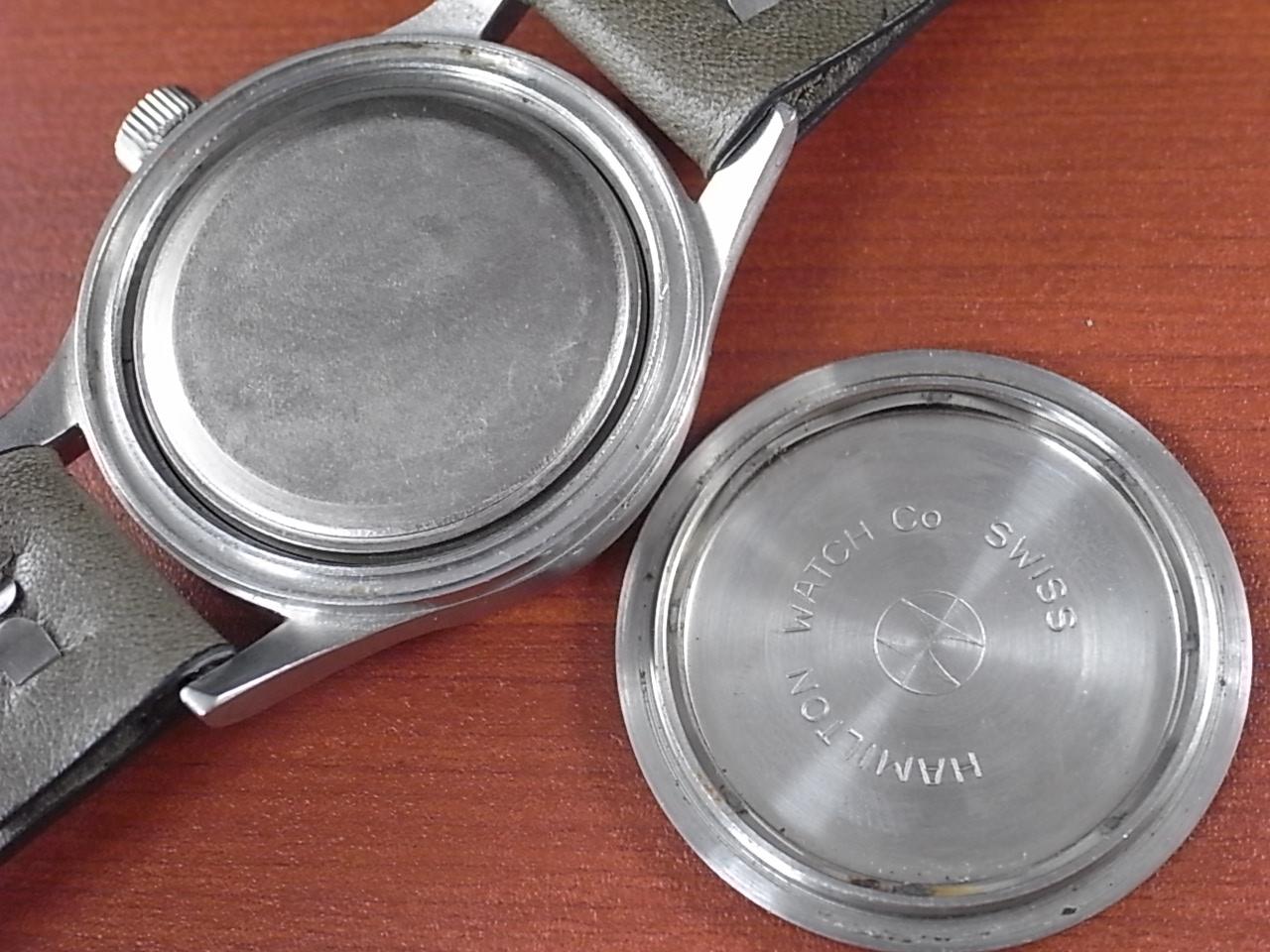 ハミルトン 軍用時計 ロイヤルエアフォース ラウンド 6B 1960年代の写真6枚目