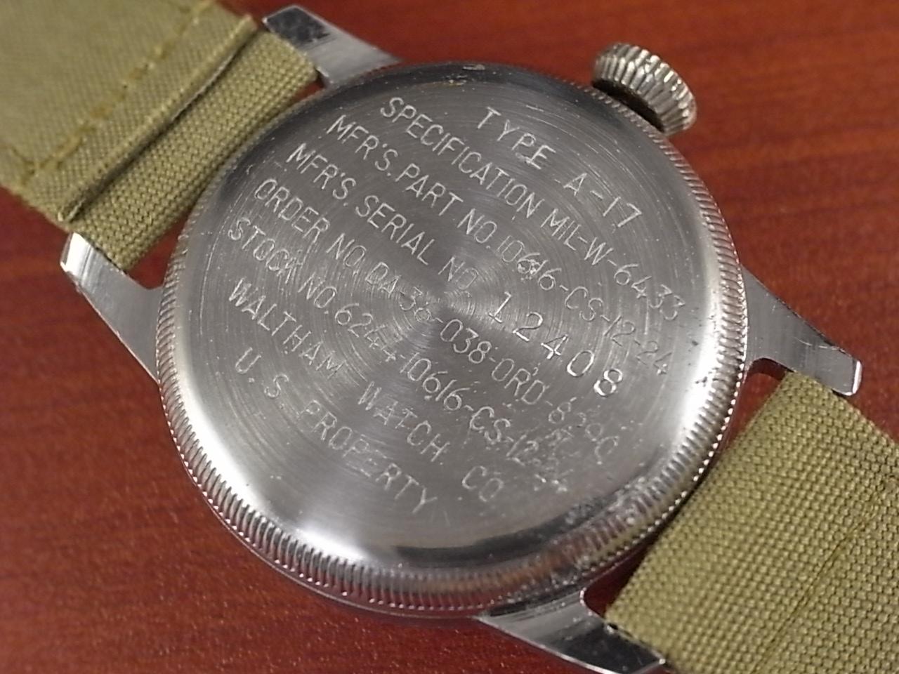 ウォルサム 軍用時計 米軍 タイプA-17 1950年代の写真4枚目