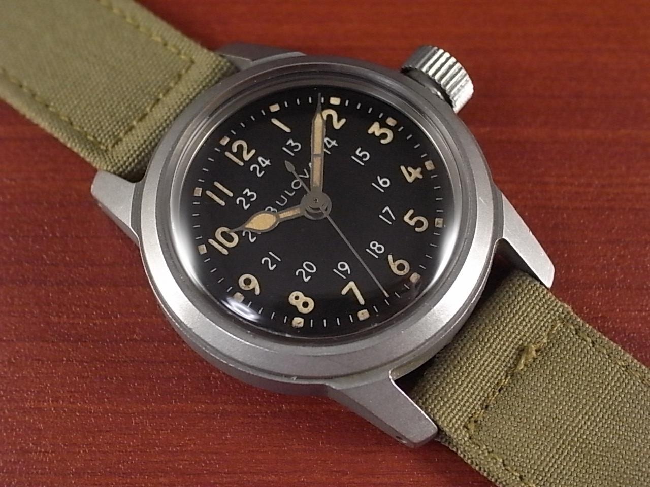 ブローバ 軍用時計 米軍 MIL-W-3818A ニアミント 1950年代のメイン写真