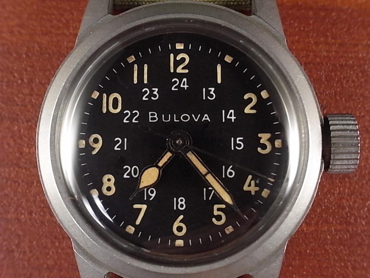 ブローバ 軍用時計 米軍 MIL-W-3818A ニアミント 1950年代の写真2枚目