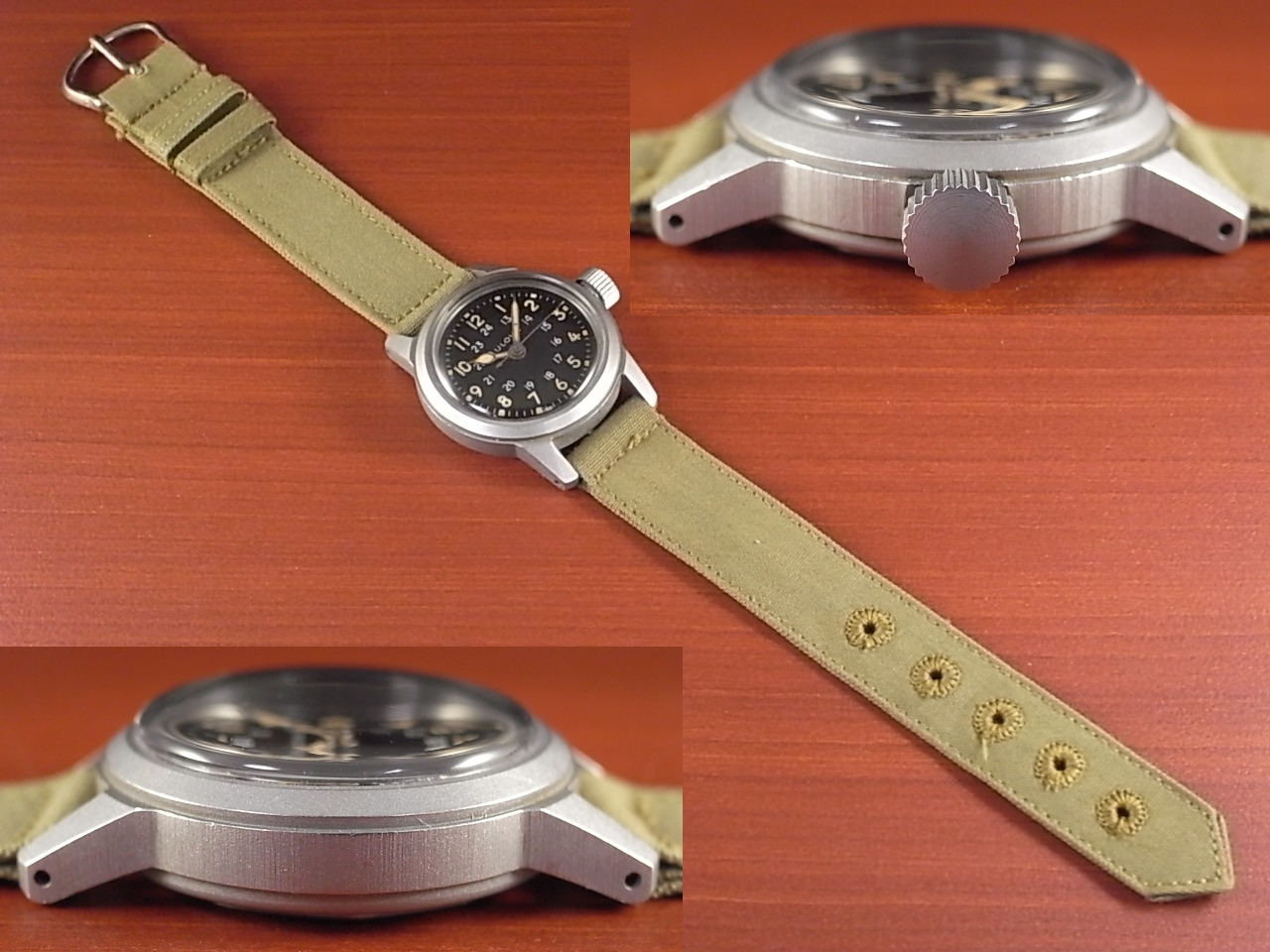 ブローバ 軍用時計 米軍 MIL-W-3818A ニアミント 1950年代の写真3枚目