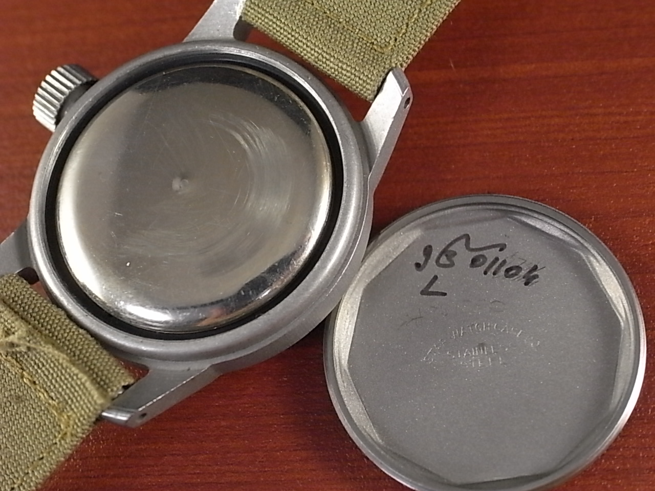 ブローバ 軍用時計 米軍 MIL-W-3818A ニアミント 1950年代の写真6枚目