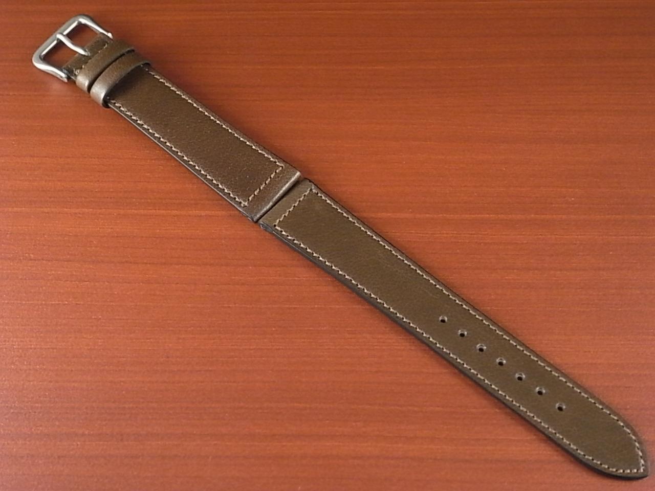 バッファロー 革ベルト グレイッシュブラウン 16mm オリジナル CBB-001aのメイン写真