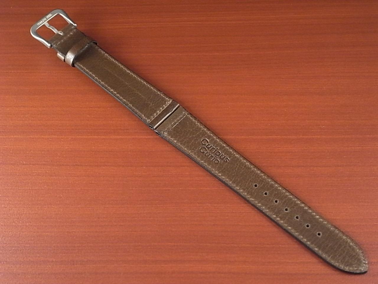 バッファロー 革ベルト グレイッシュブラウン 16mm オリジナル CBB-001aの写真2枚目