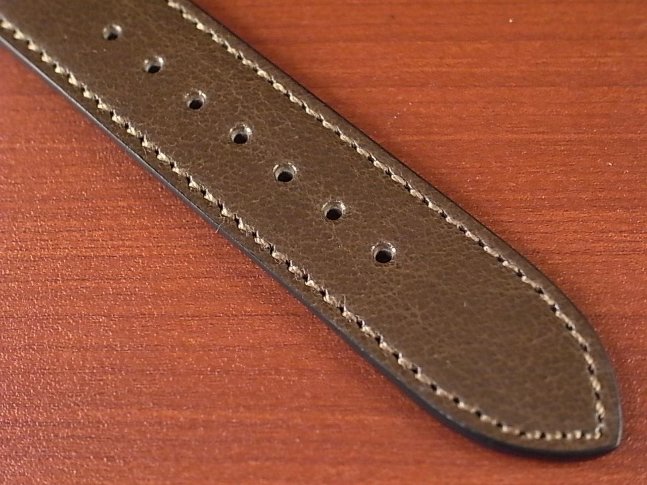 バッファロー 革ベルト グレイッシュブラウン 16mm オリジナル CBB-001aの写真5枚目