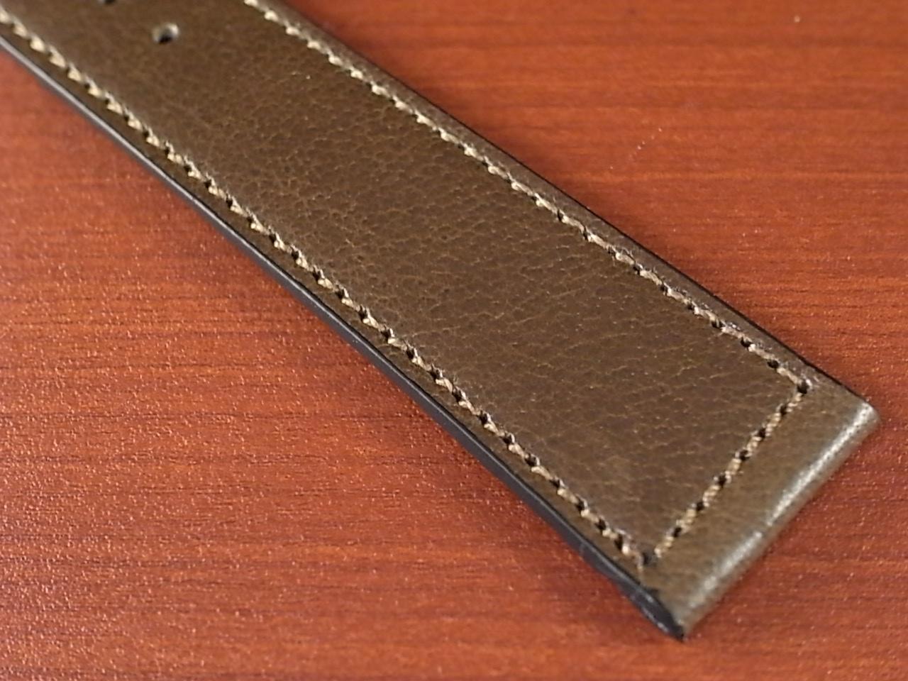 バッファロー 革ベルト グレイッシュブラウン 16mm オリジナル CBB-001aの写真6枚目