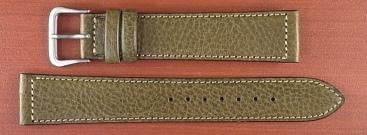 イタリアンレザーベルト オリーブ 16、18mm オリジナル CC-023a