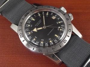 グリシン エアマン パイロットウォッチ 24時間時計 1960年代