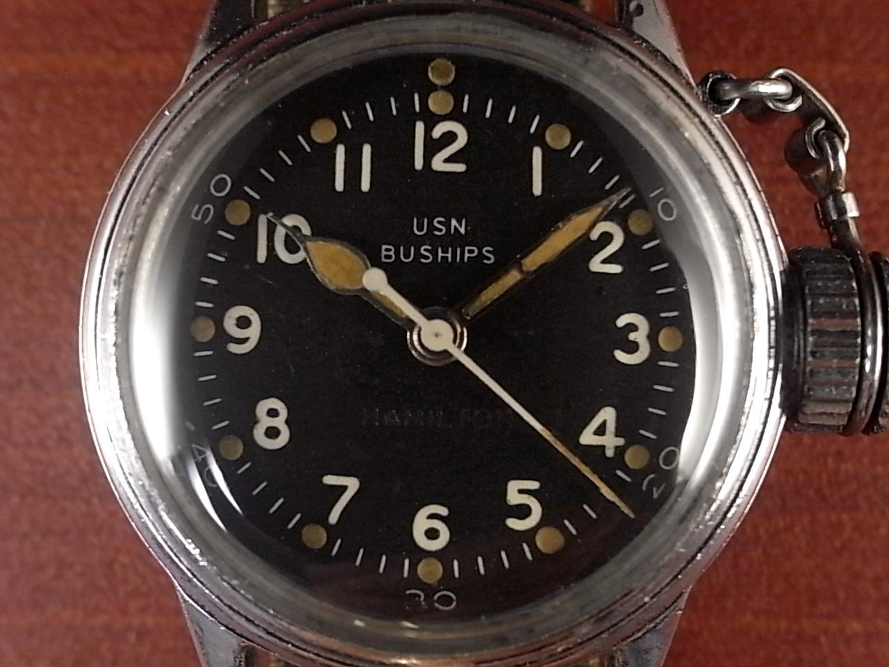 ハミルトン USN BUSHIPS 米海軍特殊部隊 UDT(水中爆破チーム) キャンティーン 1940年代の写真2枚目
