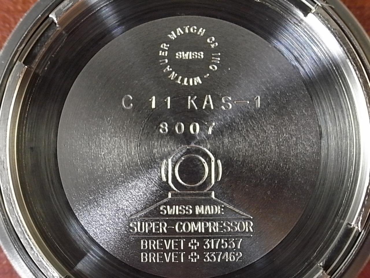 ウィットナー ダイバーズウォッチ スーパーコンプレッサー ミントコンディション 1960年代の写真6枚目