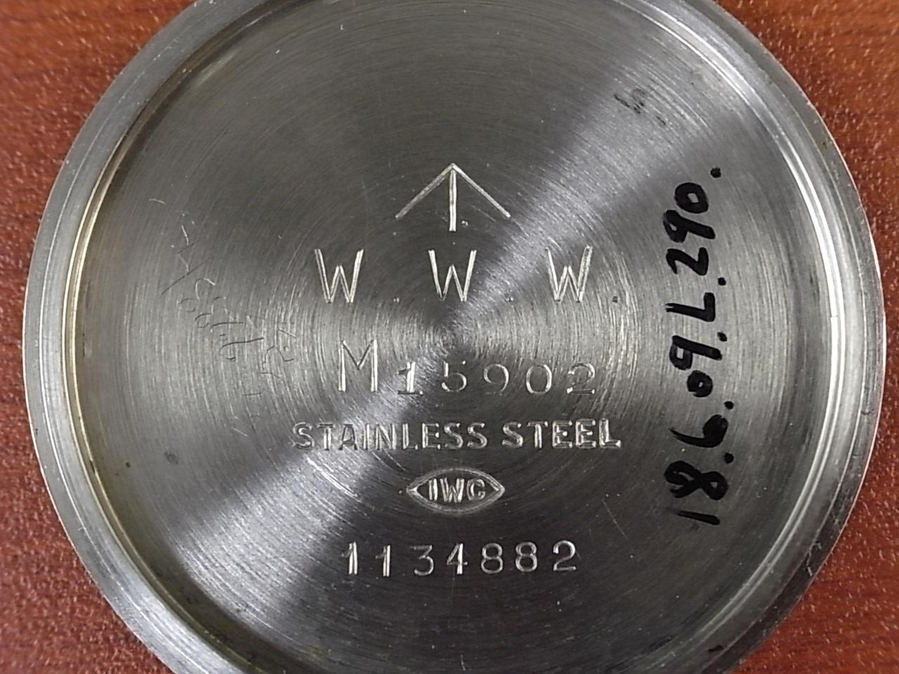 IWC インター ミリタリー マーク10 イギリス陸軍 W.W.W. 1940年代の写真6枚目