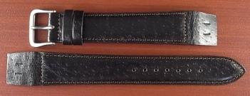ピッグ革ベルト オープンエンド 黒 16、18mm CSA-001b