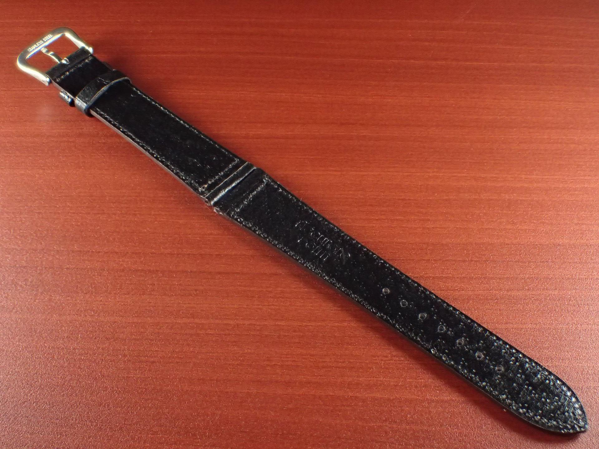 ピッグ革ベルト 黒 14、15、16、17、18、19、20mm CSA-001aの写真2枚目