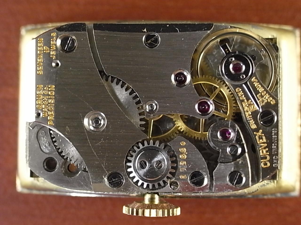 グリュエン カーベックス Cal.330 2トーンダイアル ブラック/ゴールド 1930年代の写真5枚目