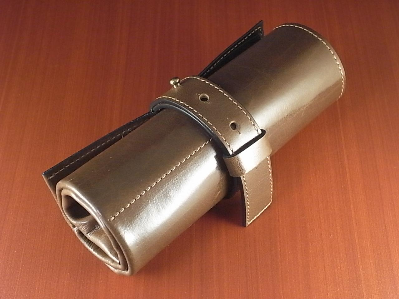 本革6本入り 携帯用時計ケース バッファローカーフのメイン写真