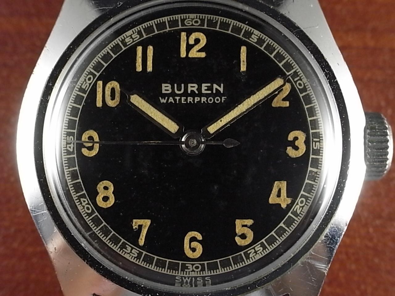 ビューレン ボーイズサイズ ブラックミラーダイアル 1940年代の写真2枚目
