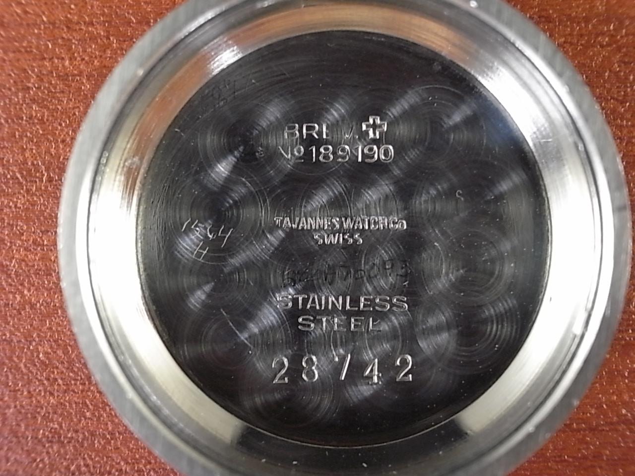 タバン ボーイズサイズ フーデッドラグ 4つビス防水ケース 1940年代の写真6枚目