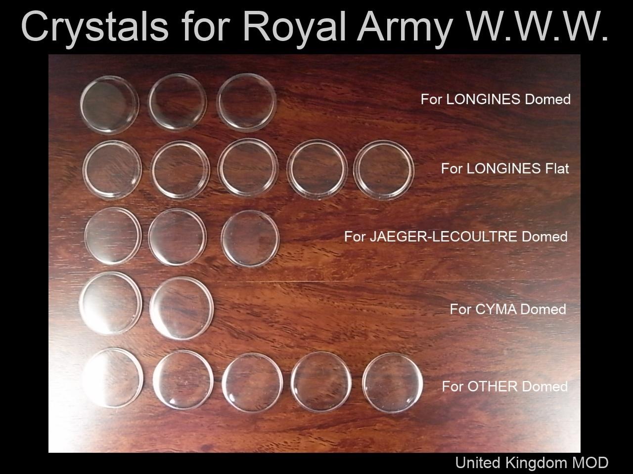 イギリス陸軍 W.W.W.用デッドストック風防の入手!