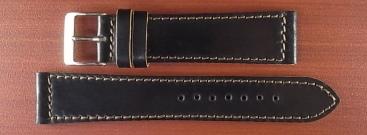 ホーウィン コードバン レギュラーB ブラック 18mm