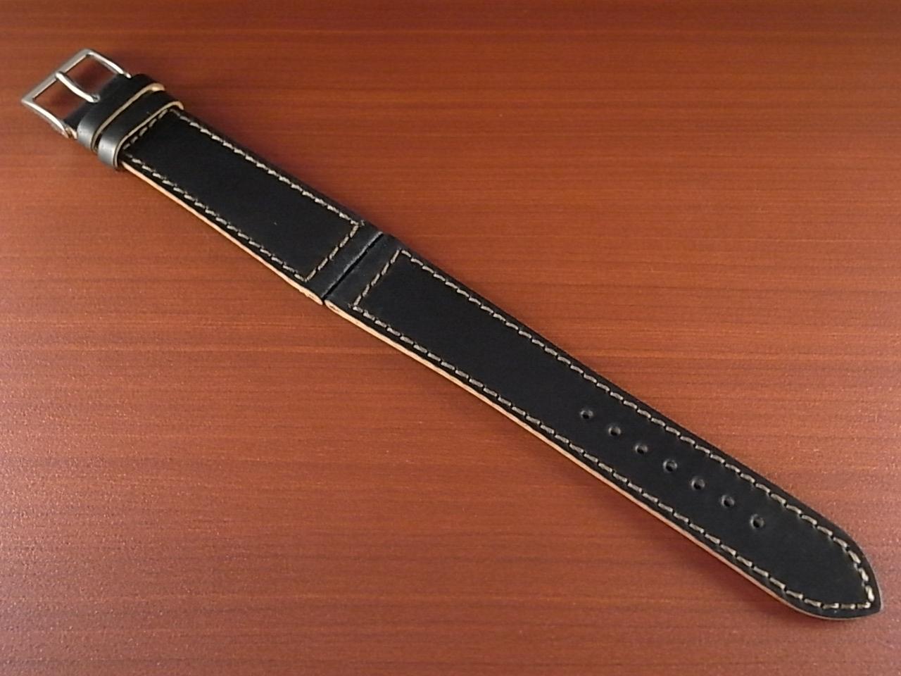 ホーウィン コードバン レギュラーB ブラック 18mmのメイン写真