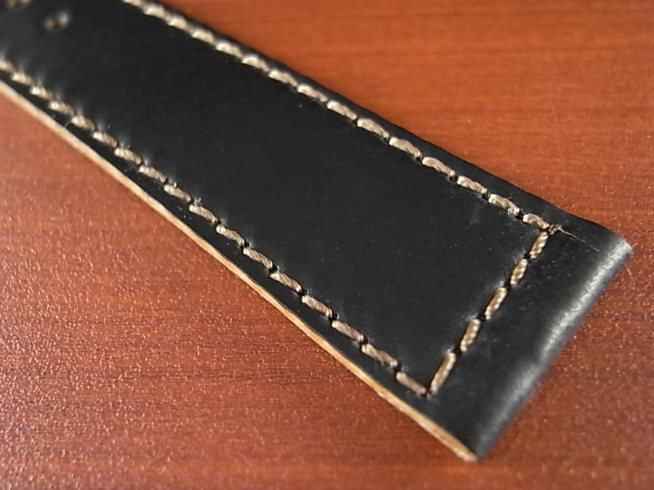 ホーウィン コードバン レギュラーB ブラック 18mmの写真5枚目