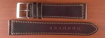 ホーウィン コードバン レギュラーB バーガンディ 20mm