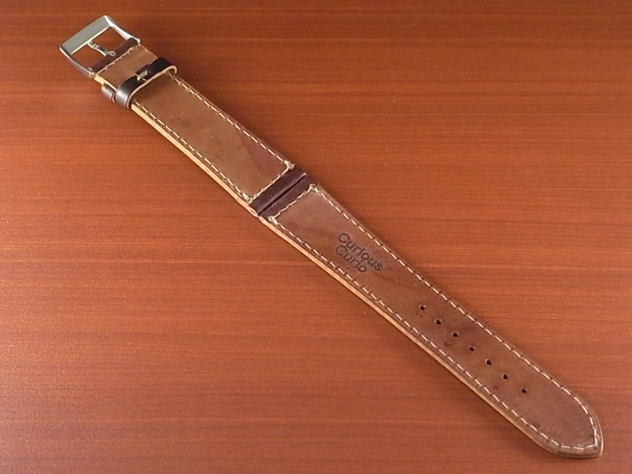ホーウィン コードバン レギュラーB バーガンディ 20mmの写真2枚目