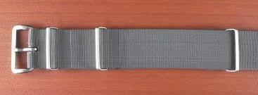 Phoenix  正規NATO G10 ナイロンベルト グレー 18、20、22mm