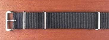 Phoenix  正規NATO G10 ナイロンベルト ブラック 18、20mm