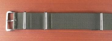Phoenix  正規NATO G10 ナイロンベルト オリーブドラブ 18、20mm