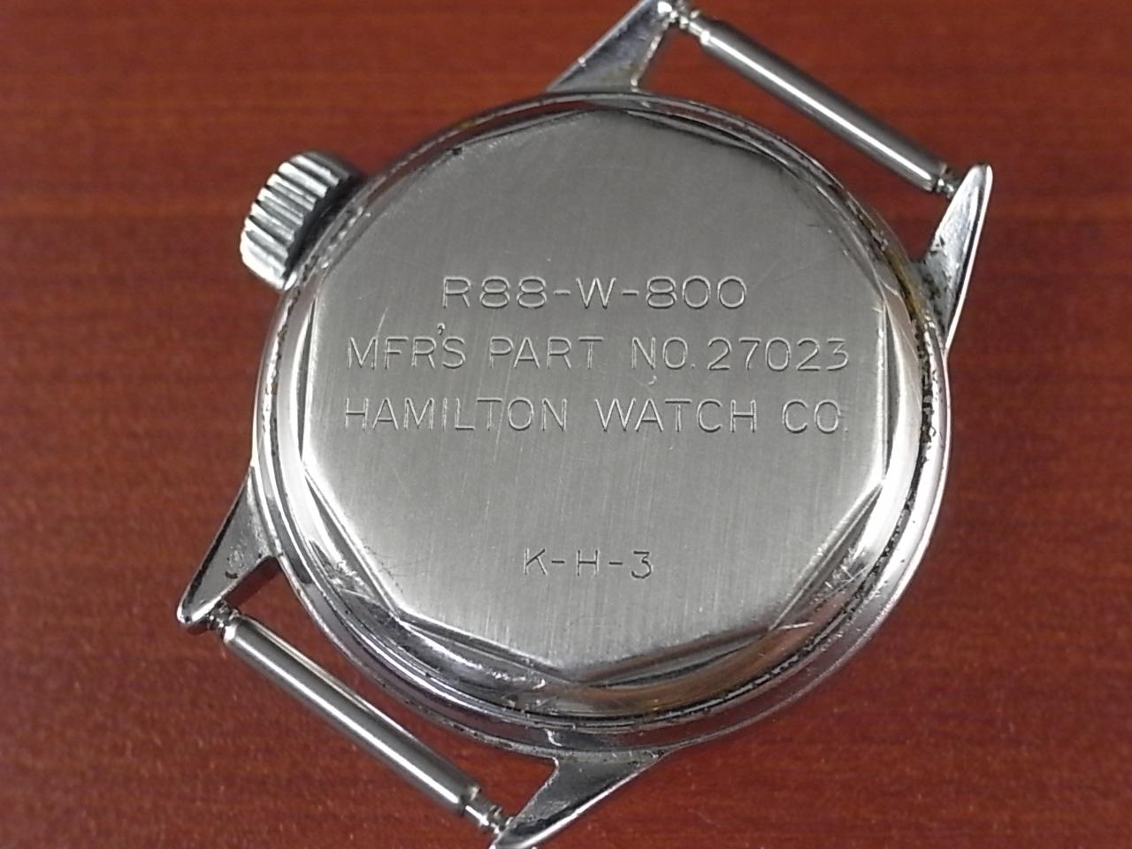 ハミルトン ミリタリー 米海軍 R88-W-800 センターセコンド 1940年代の写真4枚目