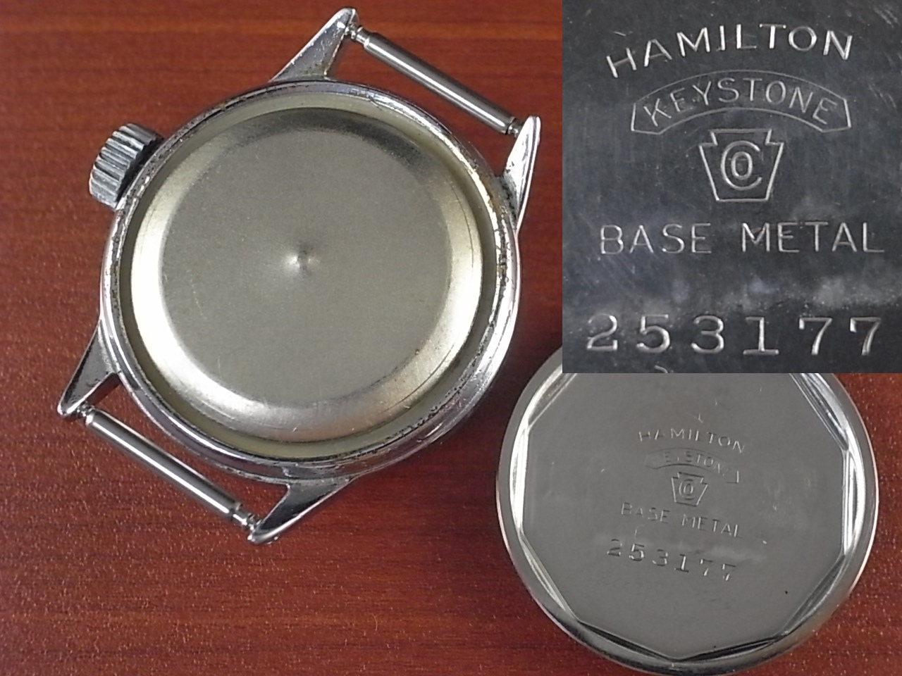 ハミルトン ミリタリー 米海軍 R88-W-800 センターセコンド 1940年代の写真6枚目