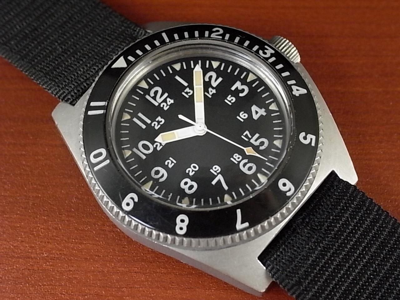 ベンラス ミリタリー タイプⅡクラスA 特殊部隊ダイバーズウォッチ 1970年代のメイン写真