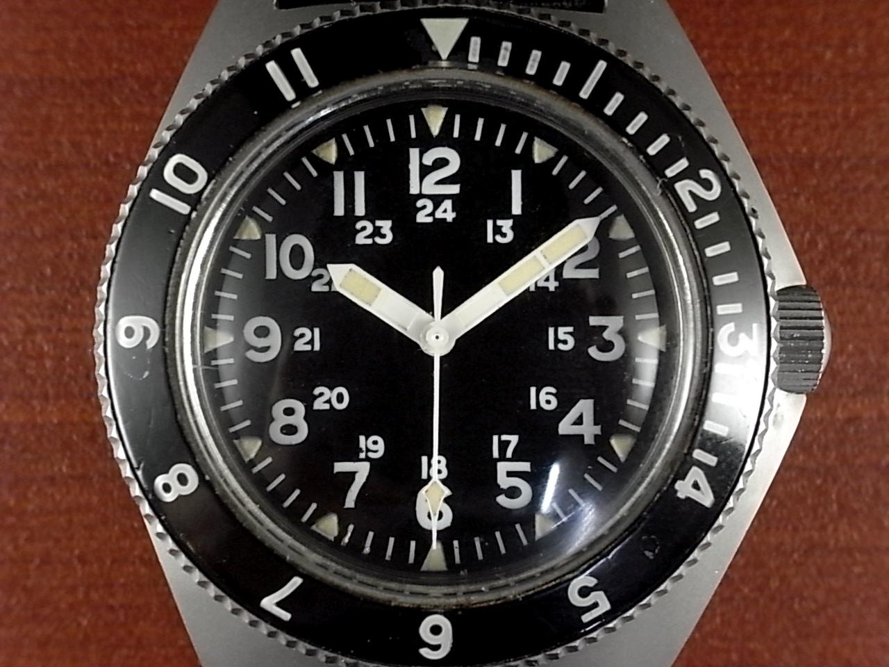 ベンラス 米軍特殊部隊 タイプⅡクラスA ダイバーズウォッチ 1970年代の写真2枚目