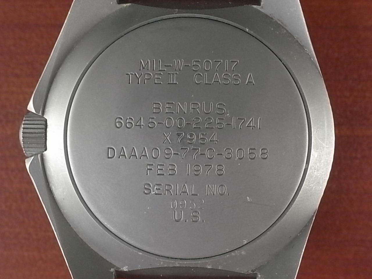 ベンラス 米軍特殊部隊 タイプⅡクラスA ダイバーズウォッチ 1970年代の写真4枚目