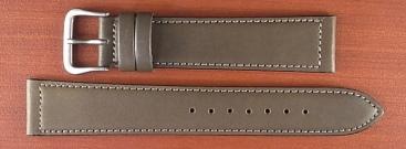 牛(ステア)革ベルト グレー 16、18mm オリジナル CC-026a