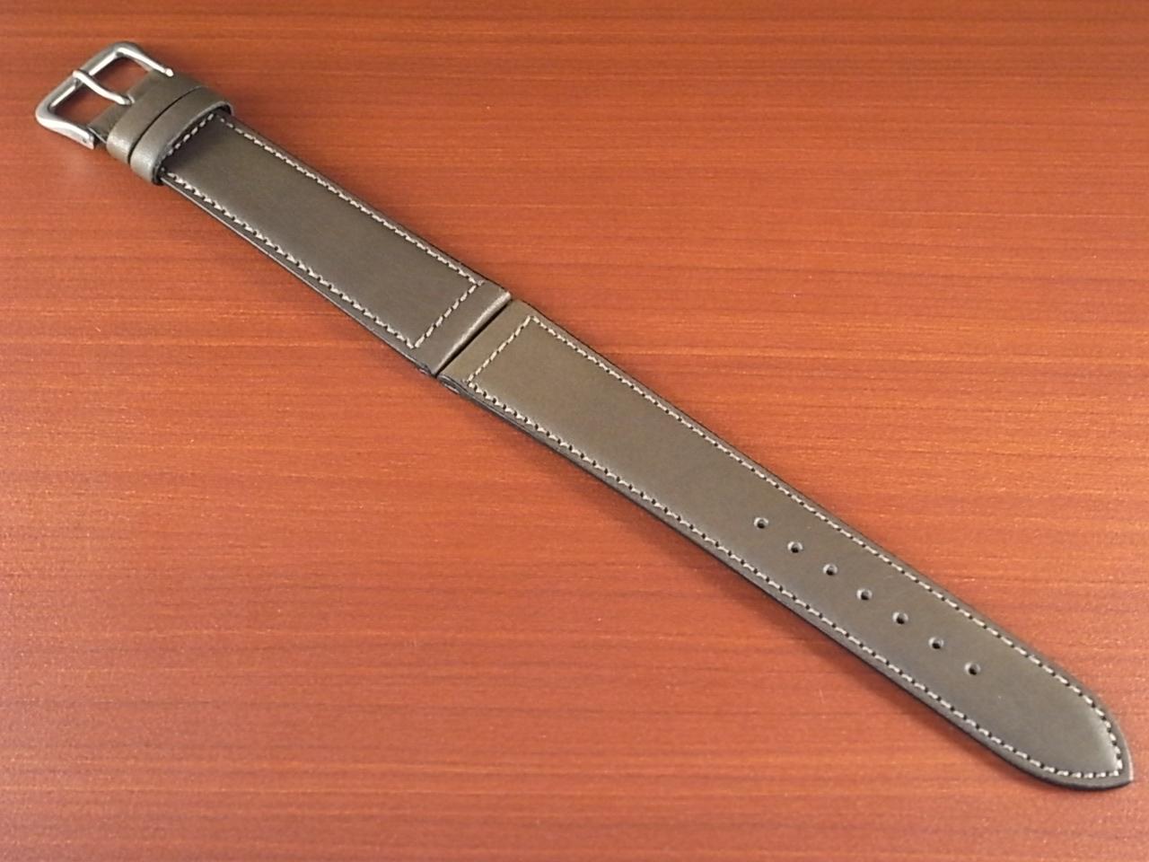 牛(ステア)革ベルト グレー 16、18mm オリジナル CC-026aのメイン写真