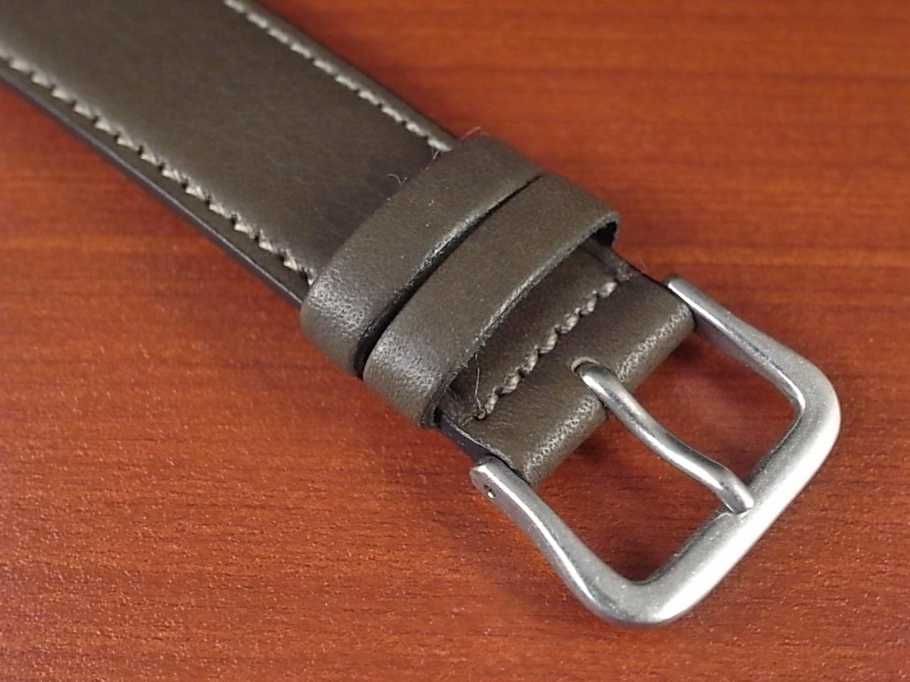 牛(ステア)革ベルト グレー 16、18mm オリジナル CC-026aの写真3枚目