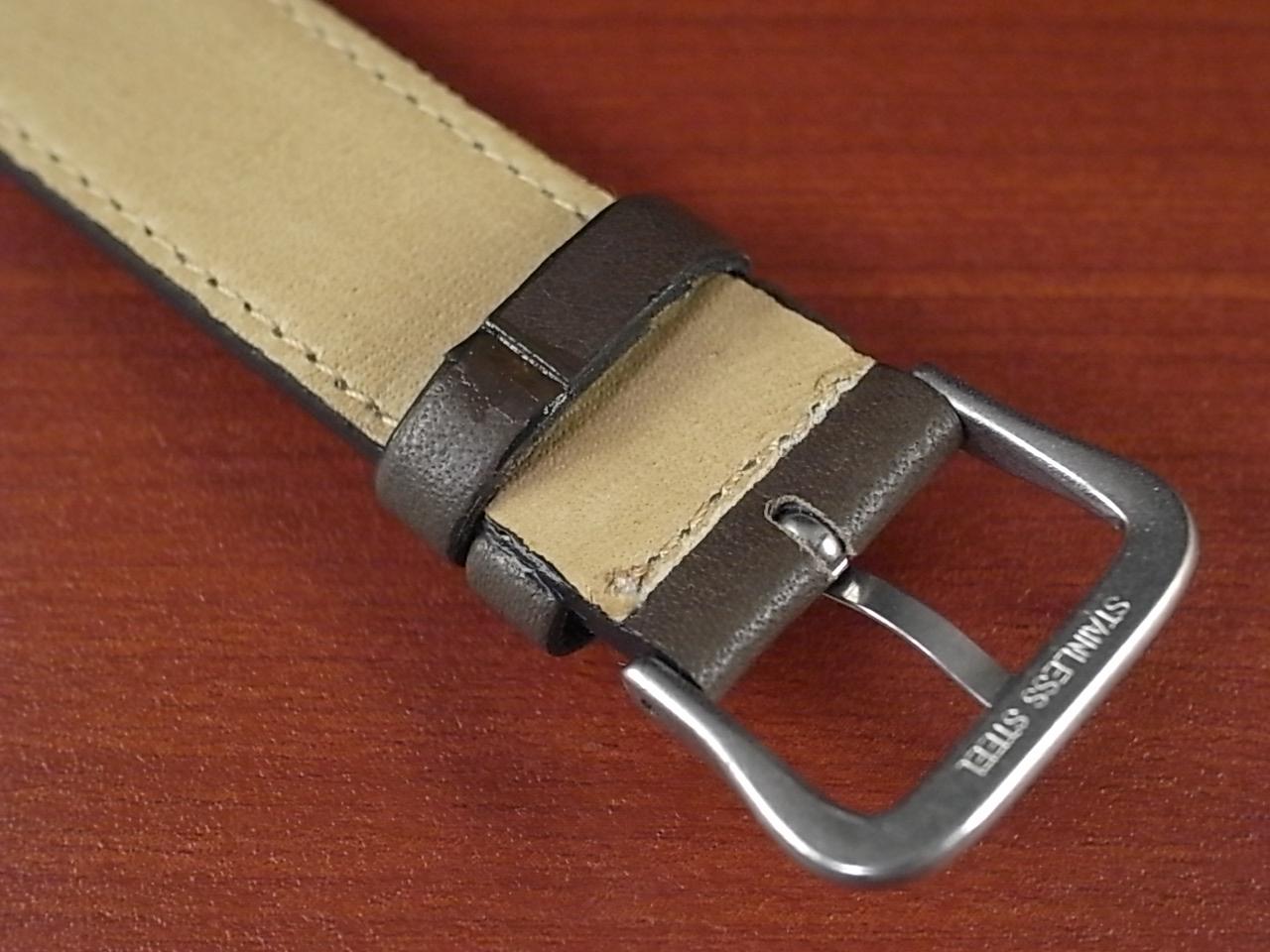 牛(ステア)革ベルト グレー 16、18mm オリジナル CC-026aの写真4枚目