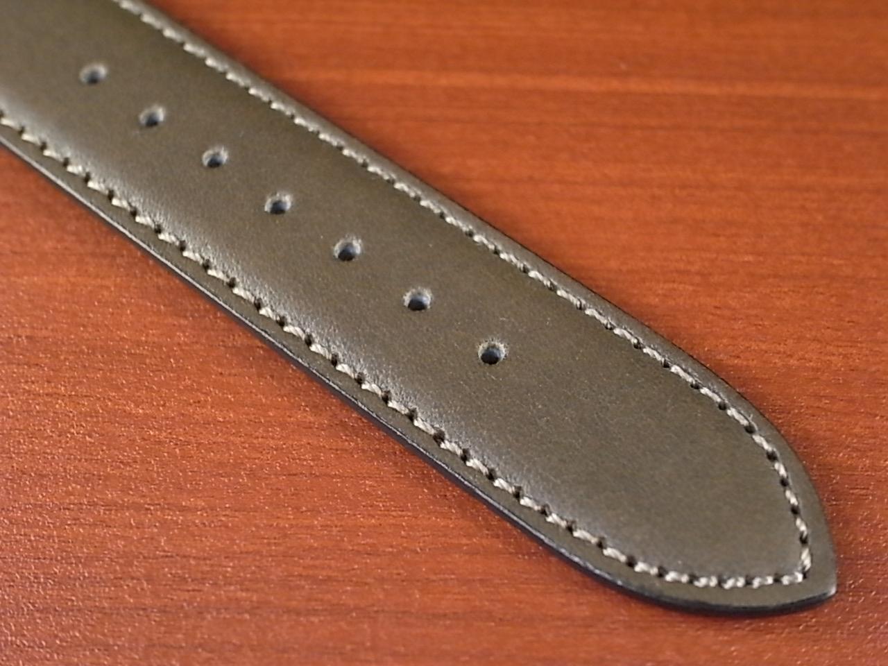 牛(ステア)革ベルト グレー 16、18mm オリジナル CC-026aの写真5枚目